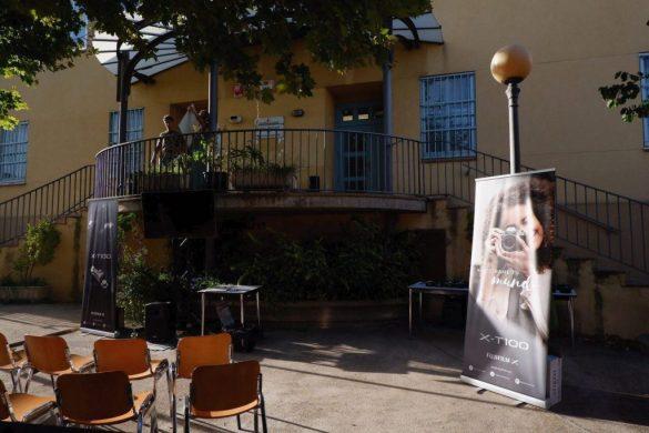 Presentación de la nueva X-T100 en el Festival Asalto de Zaragoza