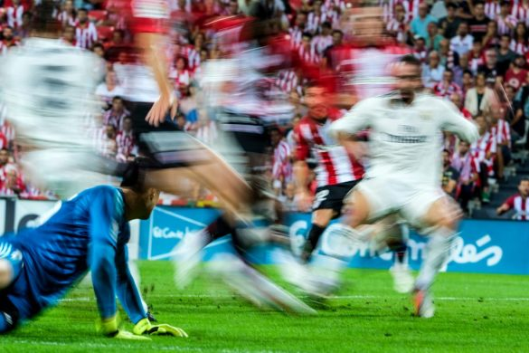 Cobertura Athletic Club-Real Madrid con X-T3 + XF200mm