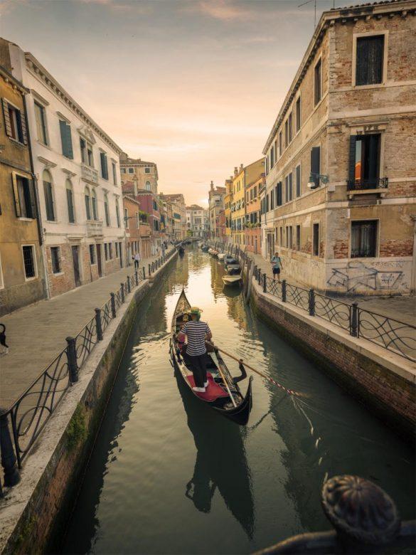 De Barcelona a Venecia