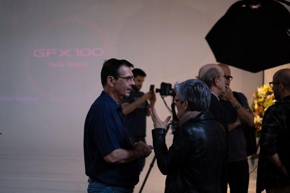 Presentación de la nueva cámara de gran formato Fujifilm GFX 100
