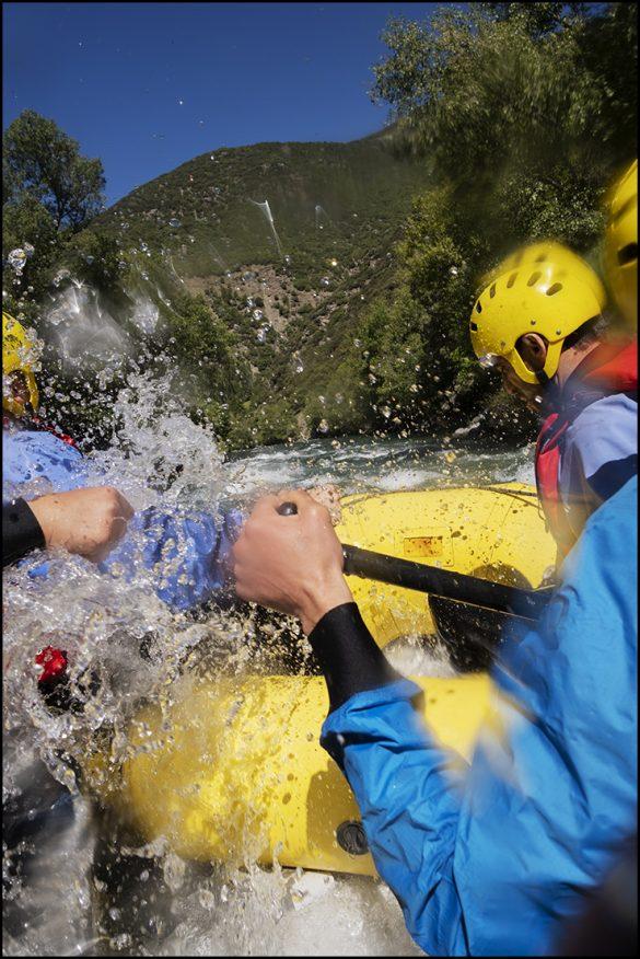 Remojón en el Pirineo de Lleida