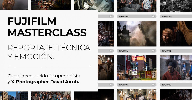 Masterclass David Airob
